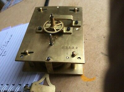 Vienna clock movement made by Remember O.V.R.M. Co. For spares or repair.