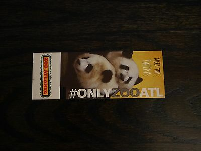 2 Zoo Atlanta Tickets Adult or Child - Expires 11/30/20