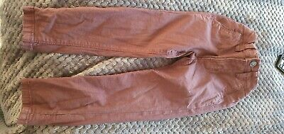 Boys Plum Chino Trousers age 3