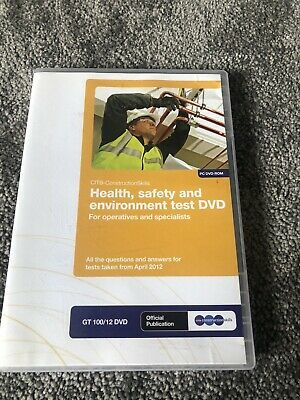 Health, Safety and Environment Test for Operatives and Specialists: GT 100/13 by