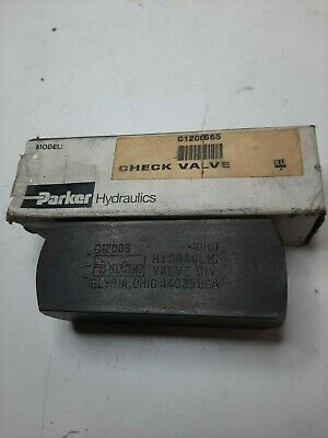 Parker Hydraulics C1200S65 Check Valve