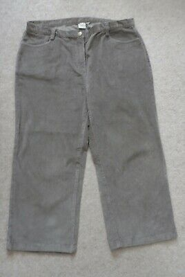 Ladies Mink Cords  Trousers by Cotton Traders size 16