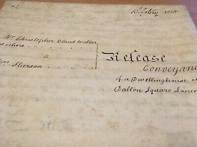 Georgeiii 3 Page Indenture On Velum Duty Stamps Wax Stamps And Re Presentsignatu