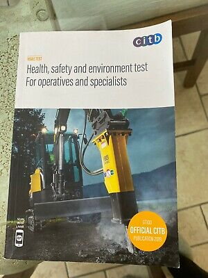 Health, safety and environment test for operatives and specialists 2019 : GT100