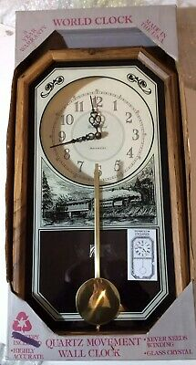 Vintage Wall Clock.(antique working)