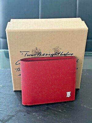 Brand new Red Burberry wallet