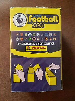 Panini Football 2020 Premier League Stickers - Unopened box of 100 packets