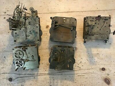 ** Lot Of Westminster Chime  Antique Clock Movements **