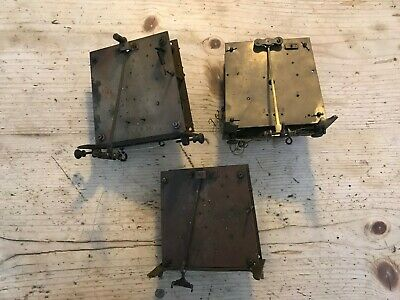 ** Lot Of Vienna Weight Driven  Antique Clock Movements **
