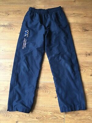 Girls Canterbury Tracksuit Bottoms 13 14 Years Navy Blue