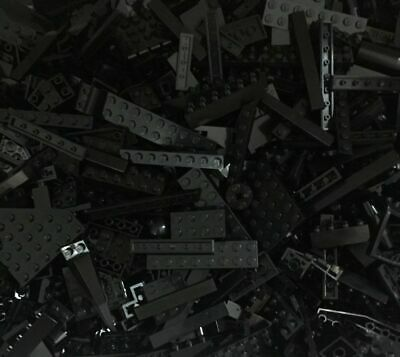 1lb of Assorted BLACK Lego Bricks & Parts & Pieces Sold in Bulk by the Pound
