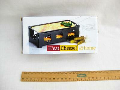 Mini raclette cheese grill Candle powered hot plate Ready to eat in 5 min Boxed