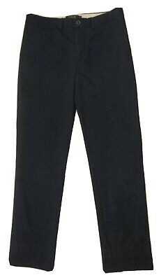 Polo Ralph Lauren Navy Blue Stretch SkinnyCotton Chino Trousers Age 16 Years