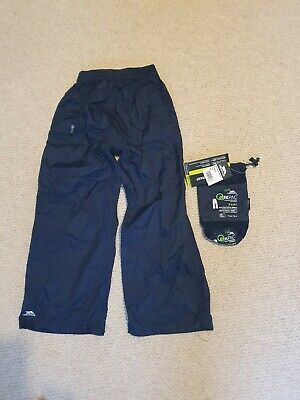 Tresspass Waterproof Over Trousers Great Condition