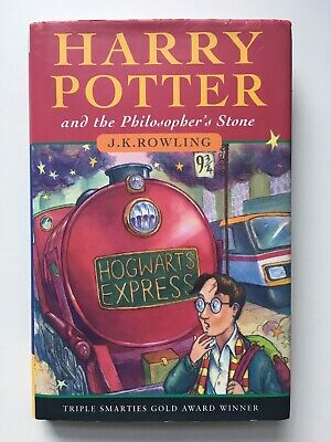 HARRY POTTER & THE PHILOSOPHER'S STONE - J K Rowling HB DJ 1st / 32nd BLOOMSBURY