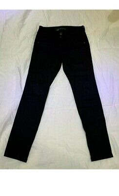 Ladies Next Lift Slim & Shape Skinny Stretch Jeans Size 10 Petite Black