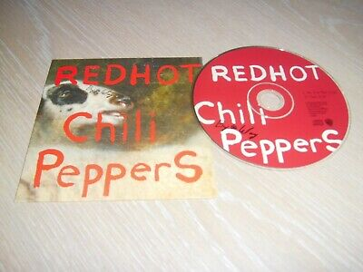 Red Hot Chili Peppers Cd Single By The Way / Time Annee 2002 Tres Bon Etat