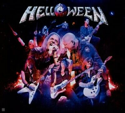 Helloween United Alive In Madrid 3Cd's Mexican Edition Mexico Box Set