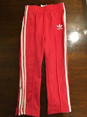 Girls Adidas Tracksuit Bottoms - Age 3-4 104 Pink