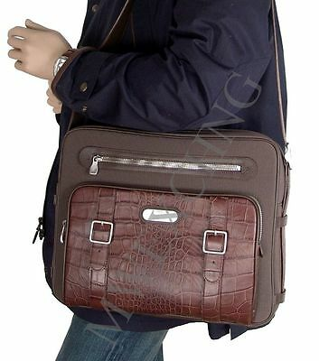 $750.00 Samsonite Black Label Alexander McQueen Messenger Laptop Computer Bag
