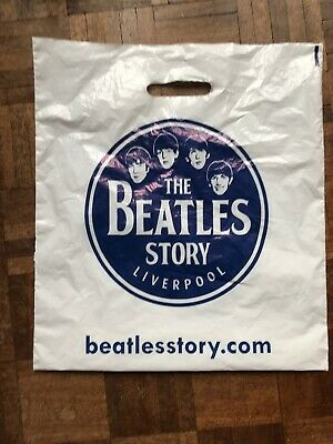 Collectable Plastic Carrier Bag -  The Beatles Story Liverpool