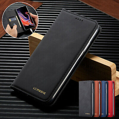 For Samsung A30 A20 A50 A70 A10 Retro Leather Magnetic Wallet Stand Case Cover