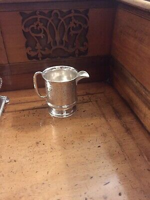 Country House Sale A crisford and norris Beautiful Christening/cream Jug