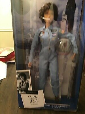 Sally Ride Barbie Inspiring Women American Astronaut Collector Doll Scientist Ne