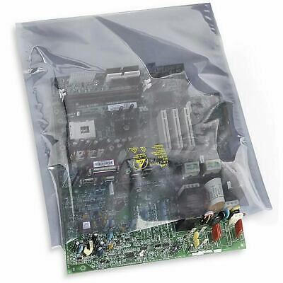 """QTY - 75 - S-3744 14 x 20"""" Static Shielding Bags Metal """"Faraday cage"""""""
