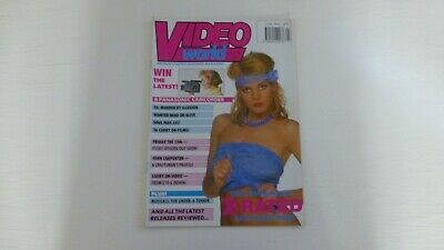 VIDEO WORLD MAGAZINE. July 1987. Excellent Condition. The Color Purple.