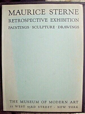 MAURICE STERNE: 1933 Museum of Modern Art Exhibition Catalogue - of 1,000