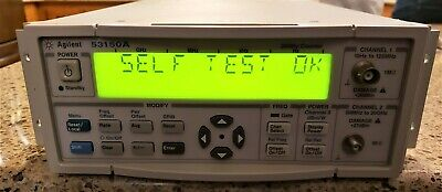 Agilent - Keysight 53150A-001 Microwave Frequency Counter, DC-20 GHz