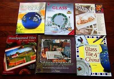 6 Books On Decorative Painting & Scrapbooking