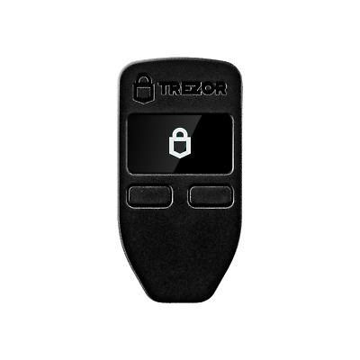 Brand New Trezor One Bitcoin Cryptocurrency Hardware Wallet