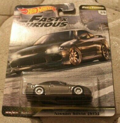 Nissan Silvia S15 * GREY * 2020 Hot Wheels FAST & FURIOUS Fast Tuners Case F