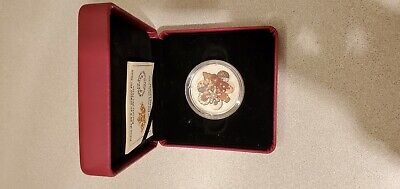 Canada 2020 $20 Murano Holiday Cookies 1 oz. Pure Silver Coin