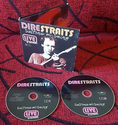 DIRE STRAITS **Sultans Of Swing - Live In Germany** COLOGNE, 1979 RARE 2-CD SET