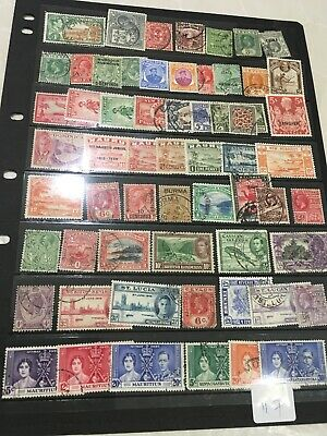 British Commonwealth Lot On Hagner High Cat Value OurRef 117
