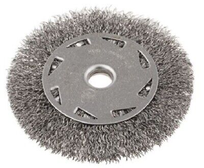RS Pro CRIMPED WIRE REFILL BRUSH 100mm Diameter, 6mm Arbor Fixing