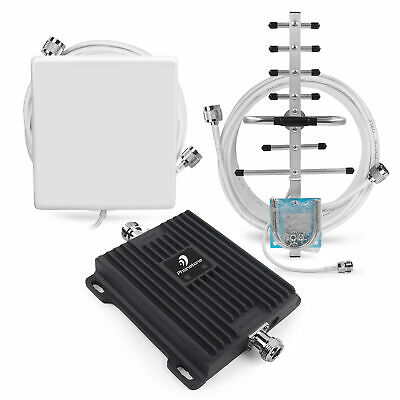 2G 3G 4G Call Phone Mobile 850/1700MHz Signal Booster Repeater kit for Data Home