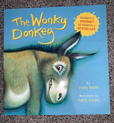 The Wonky Donkey by Craig Smith. Childrens Book, funny & lovely illustrated