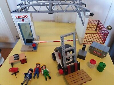 Playmobil 4134 Cargo Zone with ForkLift