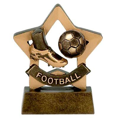 Personalised Engraved Mini Star Football Great Player Team Award