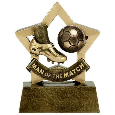 Personalised Engraved Mini Star Man of the Match Great Player Team Award