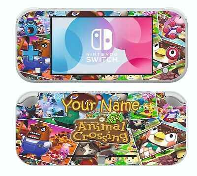 Animal Crossing For Nintendo Switch Lite Flicking Skin Decals