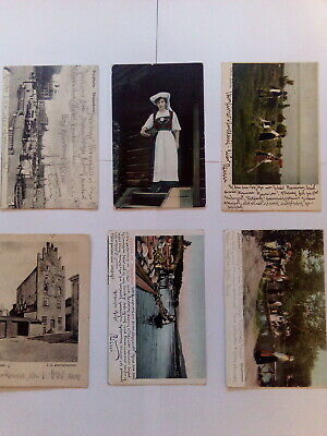 Post card collection Sweden - Norway 1900-1933