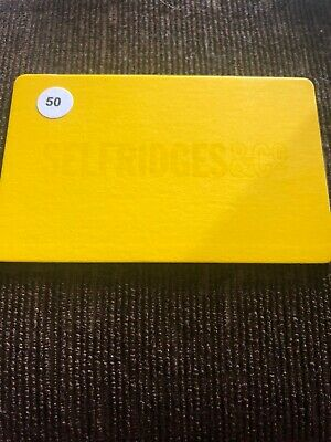 Selfridges £50 Gift Card Voucher