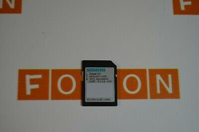 Siemens 6Es7954-8Lb01-0Aa0 Simatic S7, Memory Card For S7-1X00  -  Used Tested