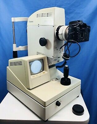 Canon CR6-45NW Fundus Camera for Medical Optometry Patient Vision Exams