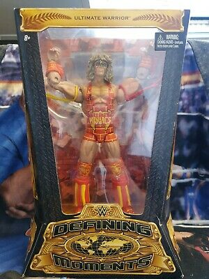 Wwe Defining Moments Ultimate Warrior Action Figure The Ultimate Maniacs Mattel